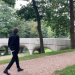 The 3D printed concrete Bridge is finished